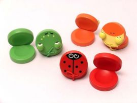 Mixed Animal Castanets - Set of 12