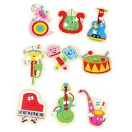 Wooden Musical Stickers