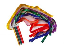 Ribbon Sticks (Set of 6)