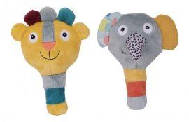 Jungle Boogie Maracas - Elephant and Lion