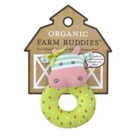 Organic Farm Buddies Rattle