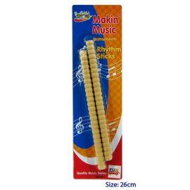 Ridged Rhythm Sticks