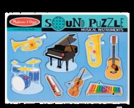 Melissa & Doug Instruments Sound Puzzle