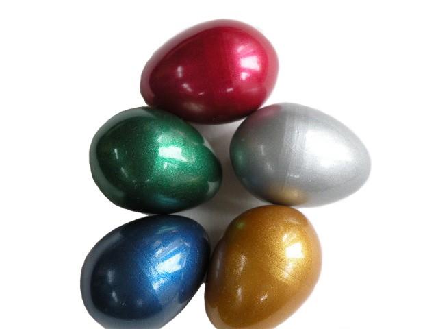 Metallic Egg Shakers